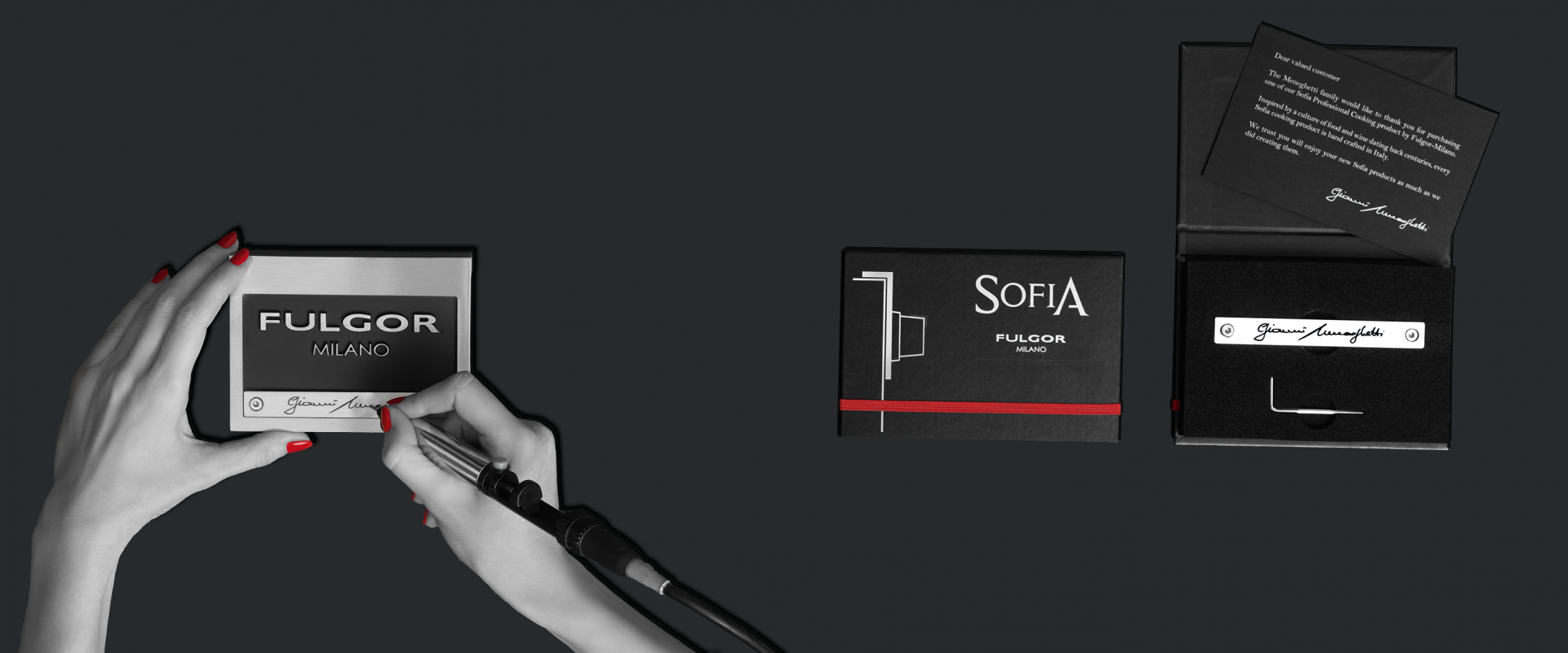 Personalize Sofia Nameplate